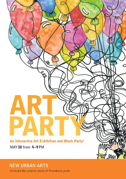 Fri, May 10, 4pm: Art Party 2013